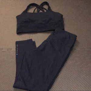 CrZy yoga navy outfit